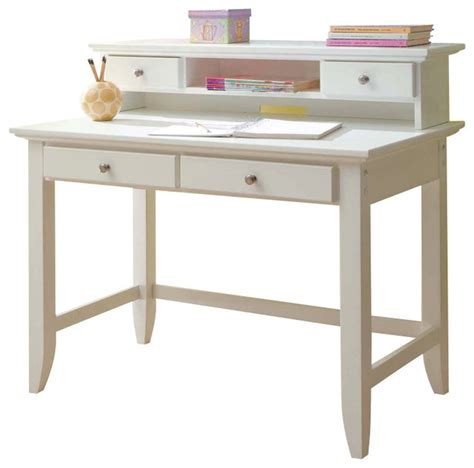 naples student desk home styles naples student desk and hutch set white