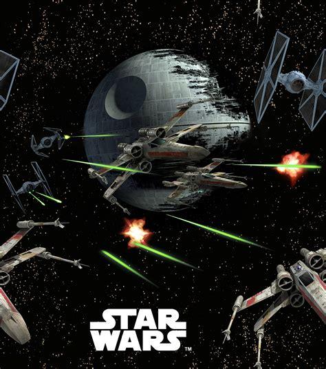 glow in the paint war wars spaceships fleece fabricstar wars spaceships
