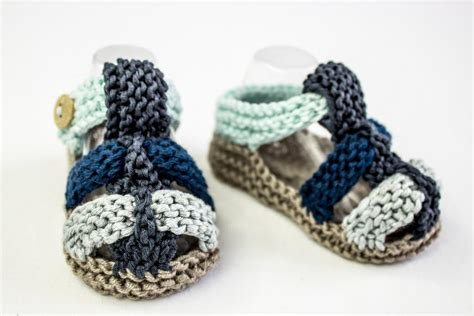 knitted sandals 6 baby bootie knitting patterns on craftsy