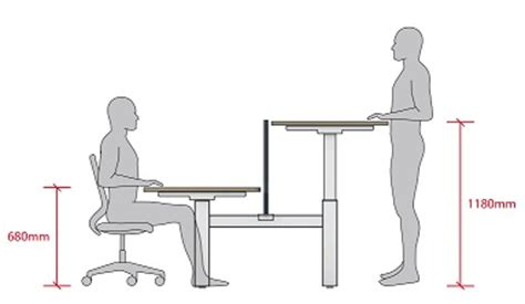normal desk height move height adjustable desks