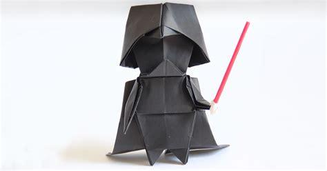 darth paper origami darth vader a step by step origami tutorial