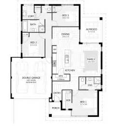 floor plans for 3 bedroom houses luxury small villas floor plans with 3 to 4