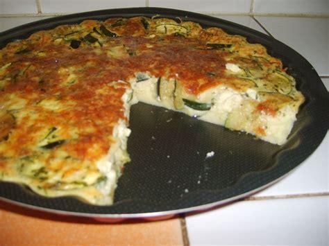tarte aux courgettes sans pate