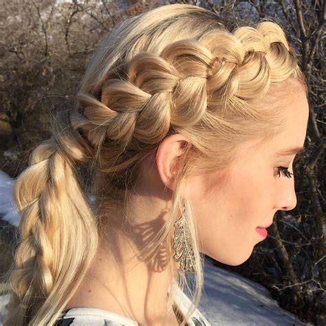 braided hair with 25 side braid hairstyle designs ideas design trends
