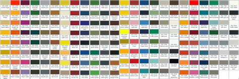 paint colors jotun 6 best images of jotun ral colour chart pdf ral color
