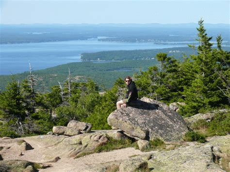 Hiking Cadillac Mountain by Hiking In Acadia Cadillac Mountain Hudson Valley Geologist