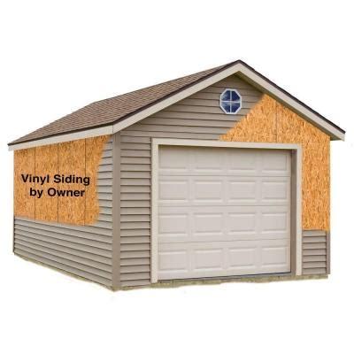 garage door kits home depot best barns greenbriar 12 ft x 20 ft prepped for vinyl