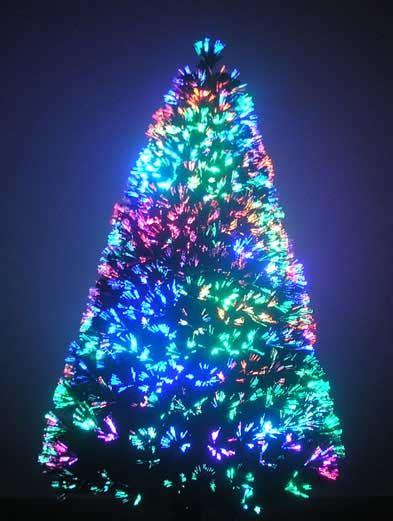 4 foot fiber optic tree sale