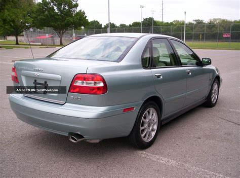2003 S40 Volvo by 2003 Volvo S40 1 9t Turbo Tin Silver 102k No
