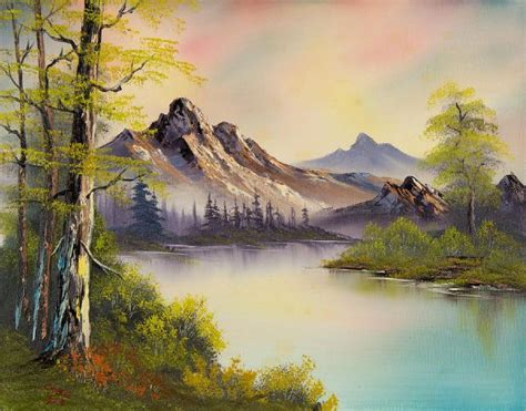bob ross paintings for sale bob ross pastel skies 86111 painting bob ross pastel