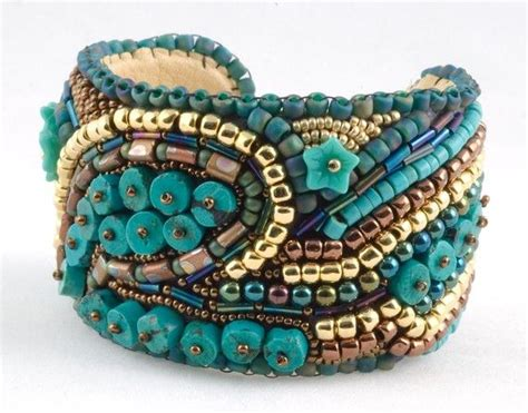 beaded cuff bracelet 17 best ideas about beaded cuff bracelet on