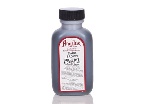 angelus paint on suede angelus dyes paint brown 3oz suede dye leather