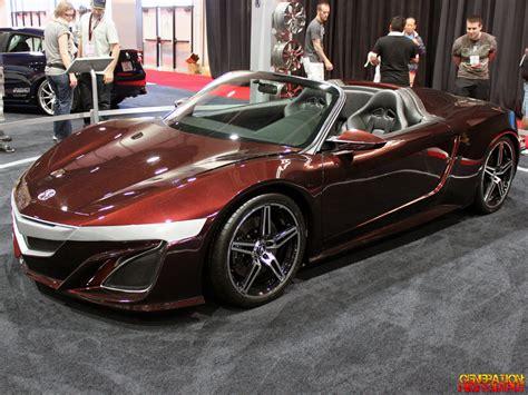 Acura Nsx Convertible by Acura Nsx 2015 Convertible Www Pixshark Images
