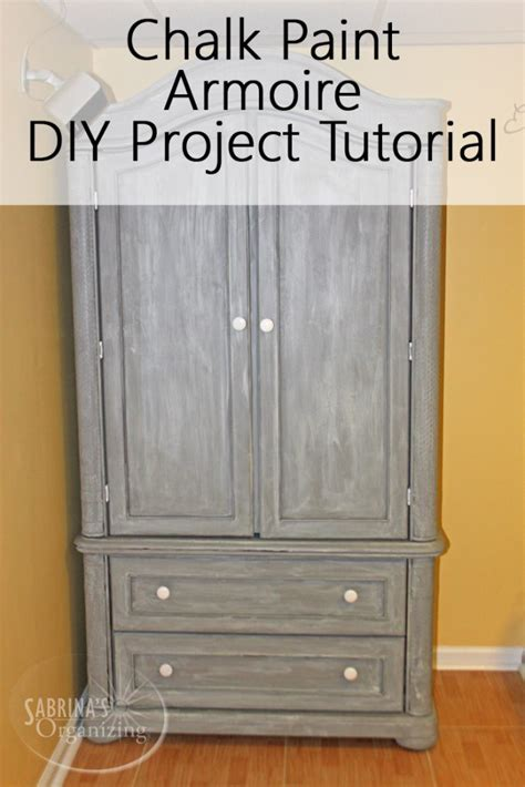 diy chalk paint techniques chalk paint armoire diy project tutorial sabrina s