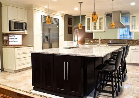 kitchen with center island bowl kitchen center island custom bar