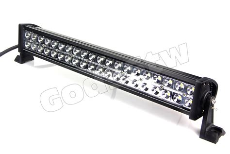 bar led lights 24 quot 120w led light bar road work 10000lm atv utv jeep