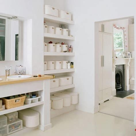 storage in a small bathroom ideas para organizar ba 241 os peque 241 os