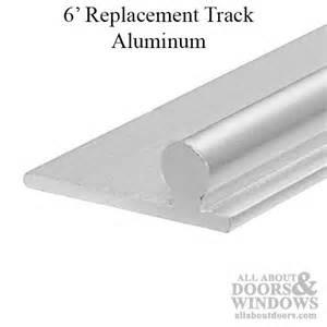 shower door track replacement sliding door repair track