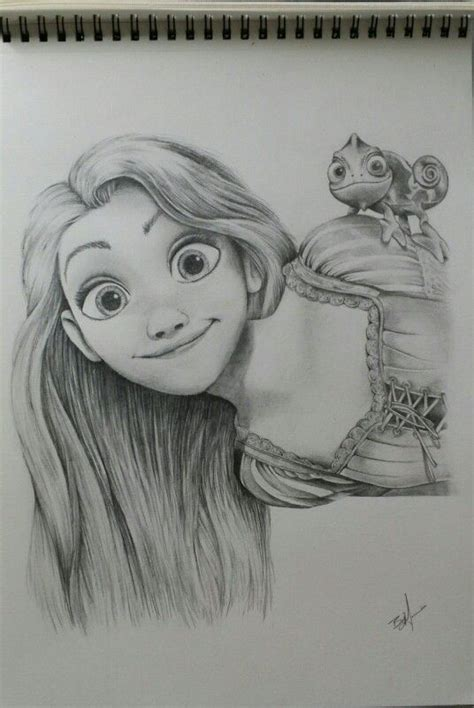 Pencil Artwork Images by Disney Fan Art Rapunzel Pencil Sketch Artwork