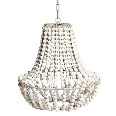 how to make a bead chandelier white wood bead chandelier light fixtures design ideas