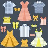 origami clothing line origami fashion royalty free stock image image 2672336