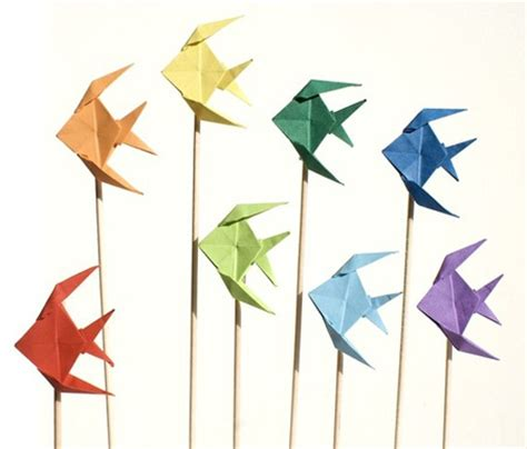 tropical fish origami origami fishes crafts
