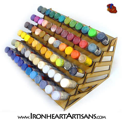 acrylic paint rack acrylic paint storage racks for tabletop miniature paints