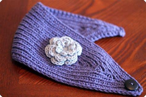 knitted ear warmer pattern knitted ear warmer knitting