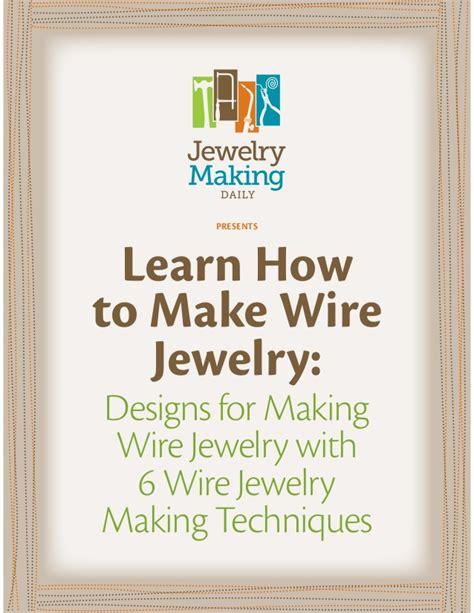how to make jewelry books wire jewelry free ebook