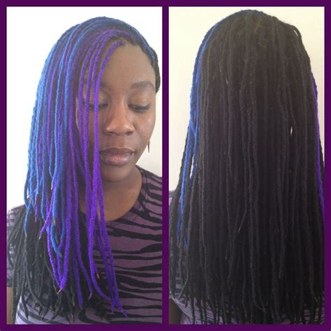 knits hair yarn braids i did my own last weekend may add some color