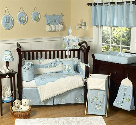 nursery bedding set go fish crib bedding collection