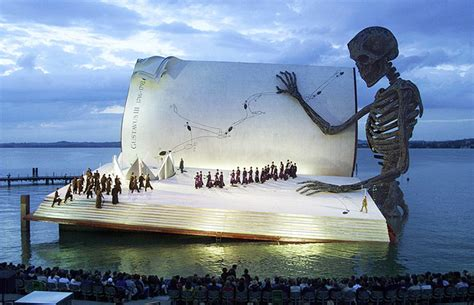 festival in austria the marvelous floating stage of the bregenz festival in