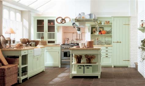 ideas for small country kitchens designs color blue small minacciolo country kitchens with italian style