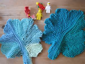 free knitted leaf patterns cotton leaf rag free knitting pattern from the dishcloths