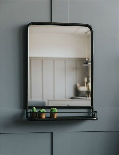 mirror shelf bathroom 25 best ideas about mirror with shelf on