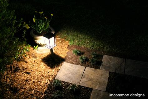 solar lights outdoor home depot creating a paver quot zipper quot pathway with the home