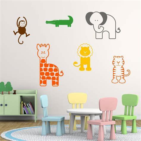 animal wall decor for nursery wall decal cutest farm animal wall decals animal wall