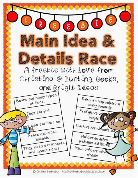 picture books for idea bunting books and bright ideas idea and details