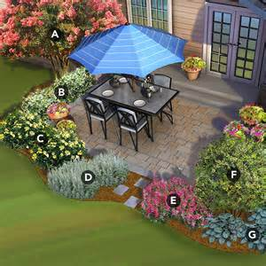 patio landscaping designs patio landscaping 5 regional plans