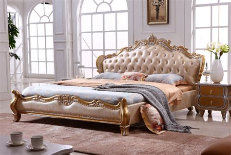 bedroom furniture from china aliexpress buy european style king size golden color