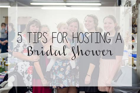 hosting a 5 tips for hosting a bridal shower irwin pa