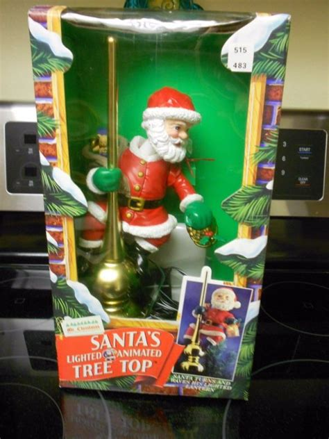 mr santa tree topper mr tree topper shop collectibles daily