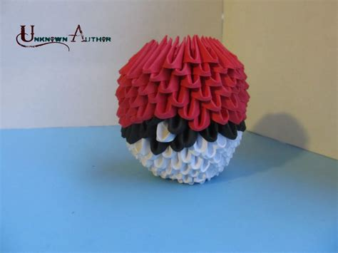 origami pokeball 3d origami p album unknown author 3d origami