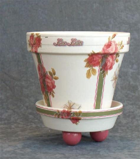 decoupage clay pots ideas decoupage terra cotta pot горшечный декор