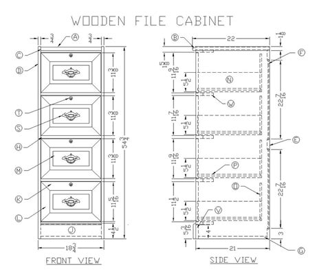 cabinet woodworking plans wood file cabinet plans free woodideas
