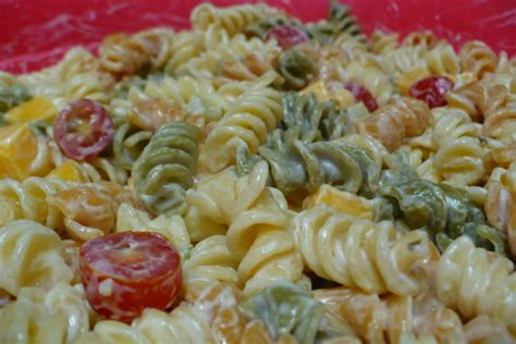 pasta salad recipe mayo mayonnaise pasta salad recipes easy