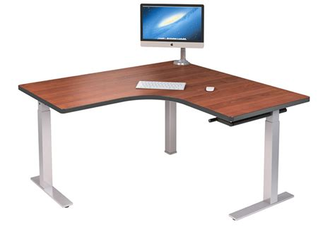 l shaped standing desk interior concepts standing desk ergonomic office