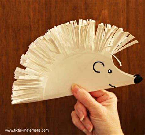 hedgehog paper plate craft kristas random thoughts all things hedgehog activities