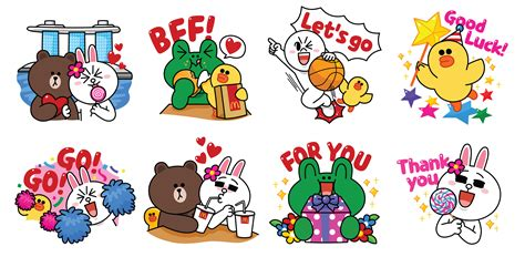 line sticker deal spice up your next mcdonald s meal with line s new