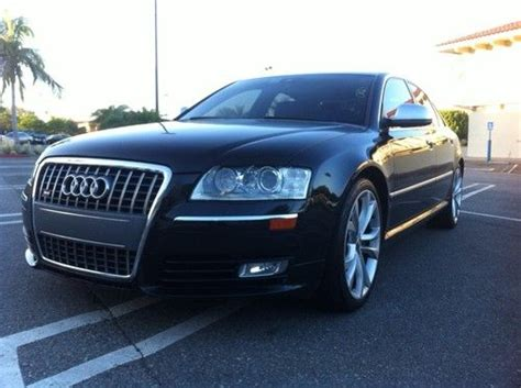 2008 Audi S8 For Sale by Sell Used 2008 Audi S8 Quatrro No Reserve Fully Loaded